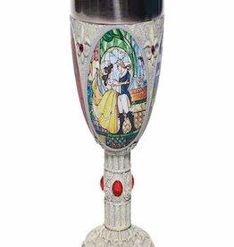 Enesco Corporation Disney Beauty And The Beast Decorative Goblet