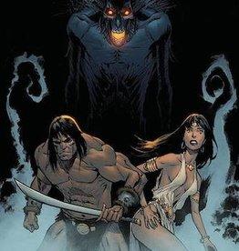 Ablaze Cimmerian Iron Shadows In Moon #3 Cvr A Christian Dibari