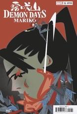 Marvel Comics Demon Days Mariko #1 Veregge Var