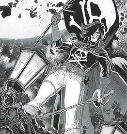 Ablaze Space Pirate Capt Harlock #1 10 Copy Paquette B&W Virgin Inc