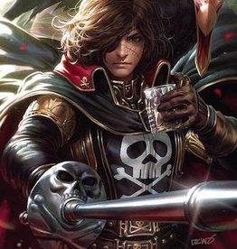 Ablaze Space Pirate Capt Harlock #1 20 Copy Derrick Chew Virgin Inc