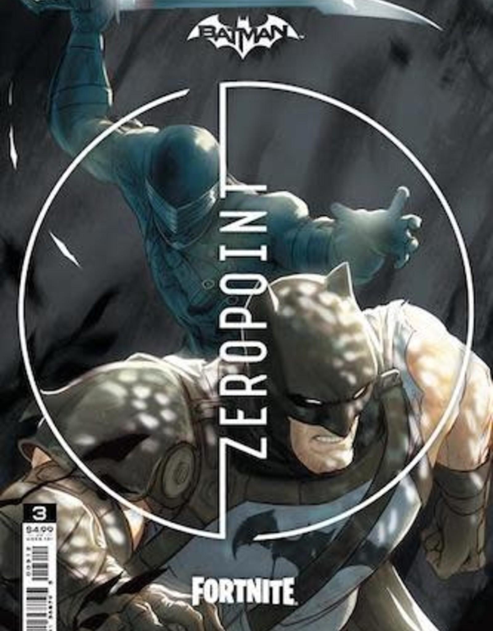 DC Comics Batman Fortnite Zero Point #3 Second Printing