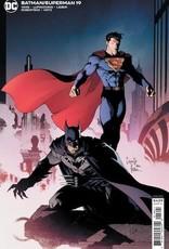 DC Comics Batman Superman #19 Cvr B Greg Capullo Card Stock Var