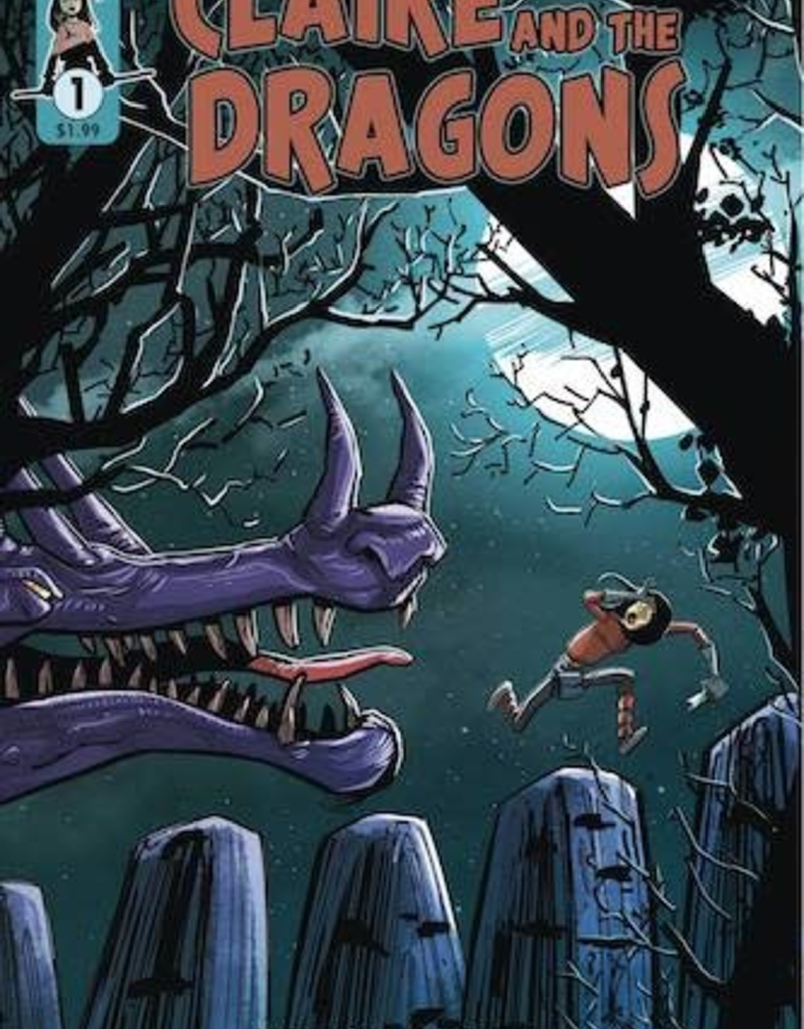 Scout Comics Claire And The Dragons #1