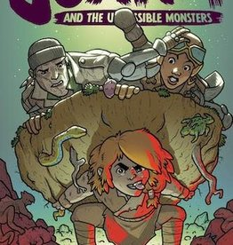 Oni Press Jonna And The Unpossible Monsters #4 Cvr B Cannon