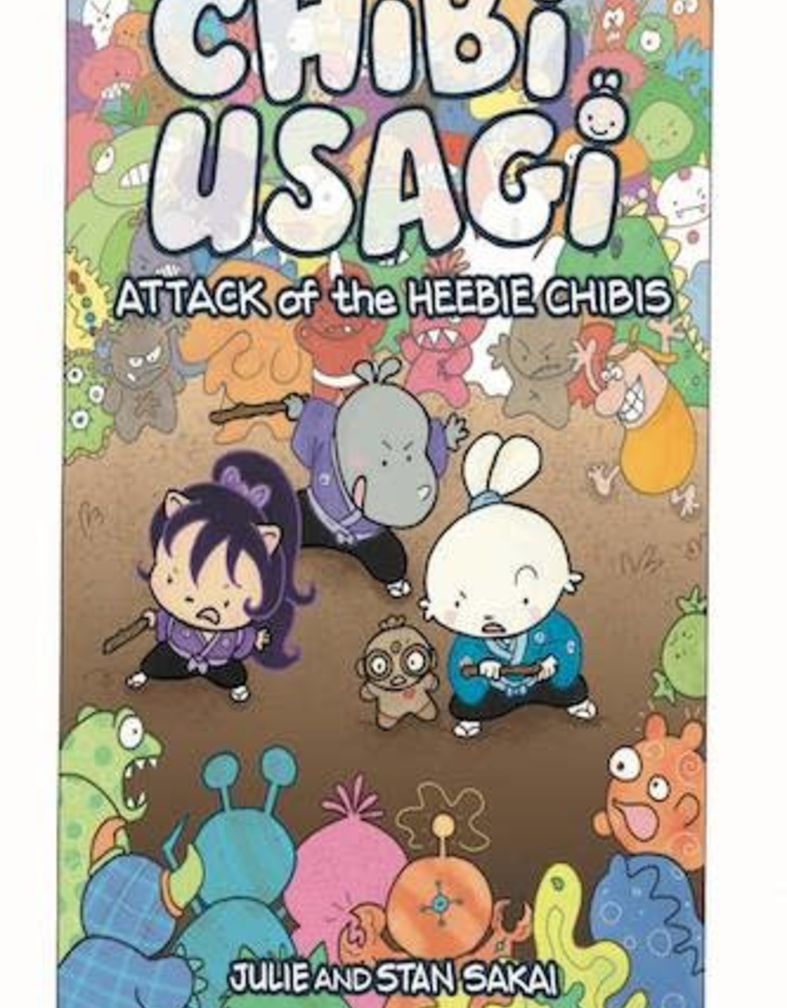 IDW Publishing Chibi Usagi: Attack Of Heebie Chibis YR GN