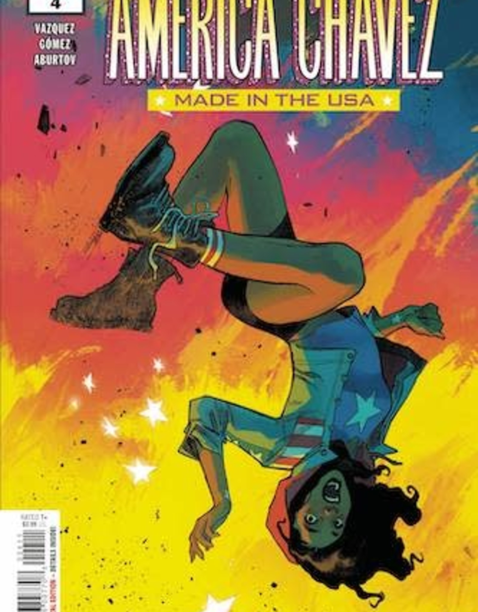 Marvel Comics America Chavez Made In USA #4