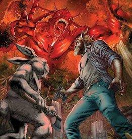 Zenescope Entertainment Man Goat & Bunny Man #3 Cvr A Vitorino