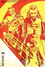 DC Comics Action Comics 2021 Annual #1 Cvr B Valentine De Landro Card Stock Var