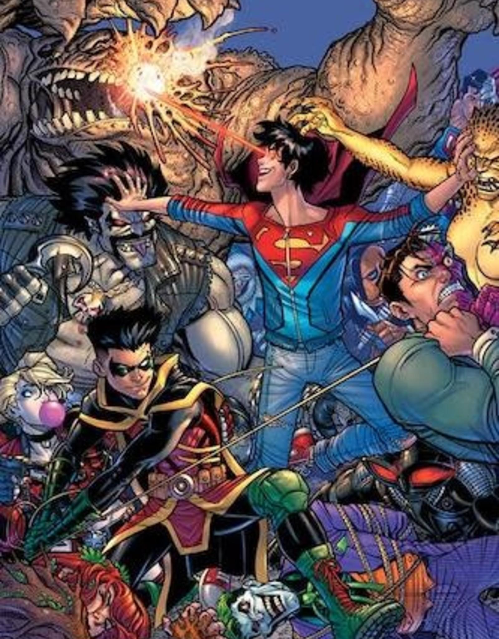 DC Comics Challenge Of The Super Sons #4 Cvr B Nick Bradshaw Card Stock Var