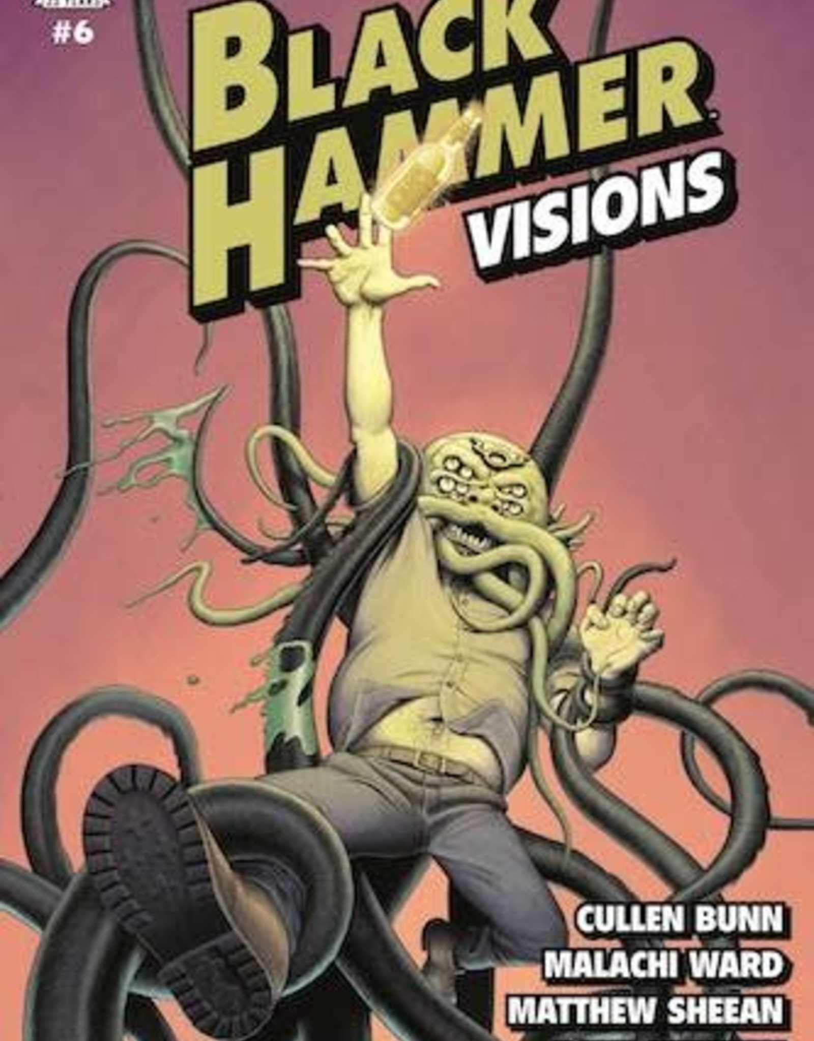 Dark Horse Comics Black Hammer Visions #6 Cvr A Ward & Sheean