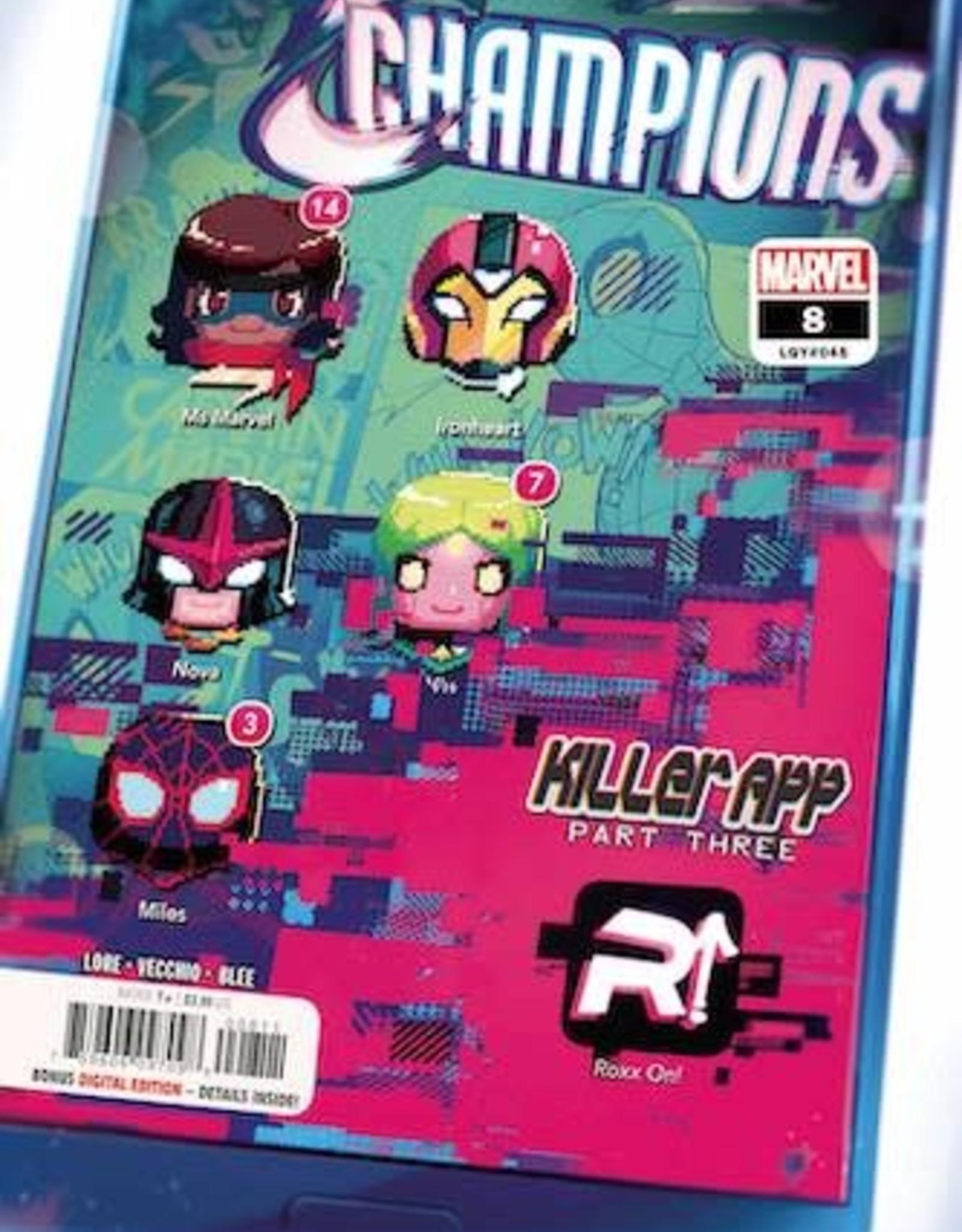 Marvel Comics Champions #8