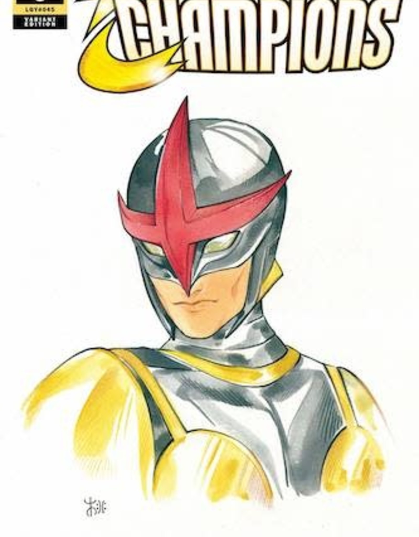 Marvel Comics Champions #8 Momoko Marvel Anime Var