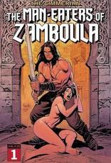 Ablaze Cimmerian Man-Eaters Of Zamboula #1 Cvr A Yannick Paquette