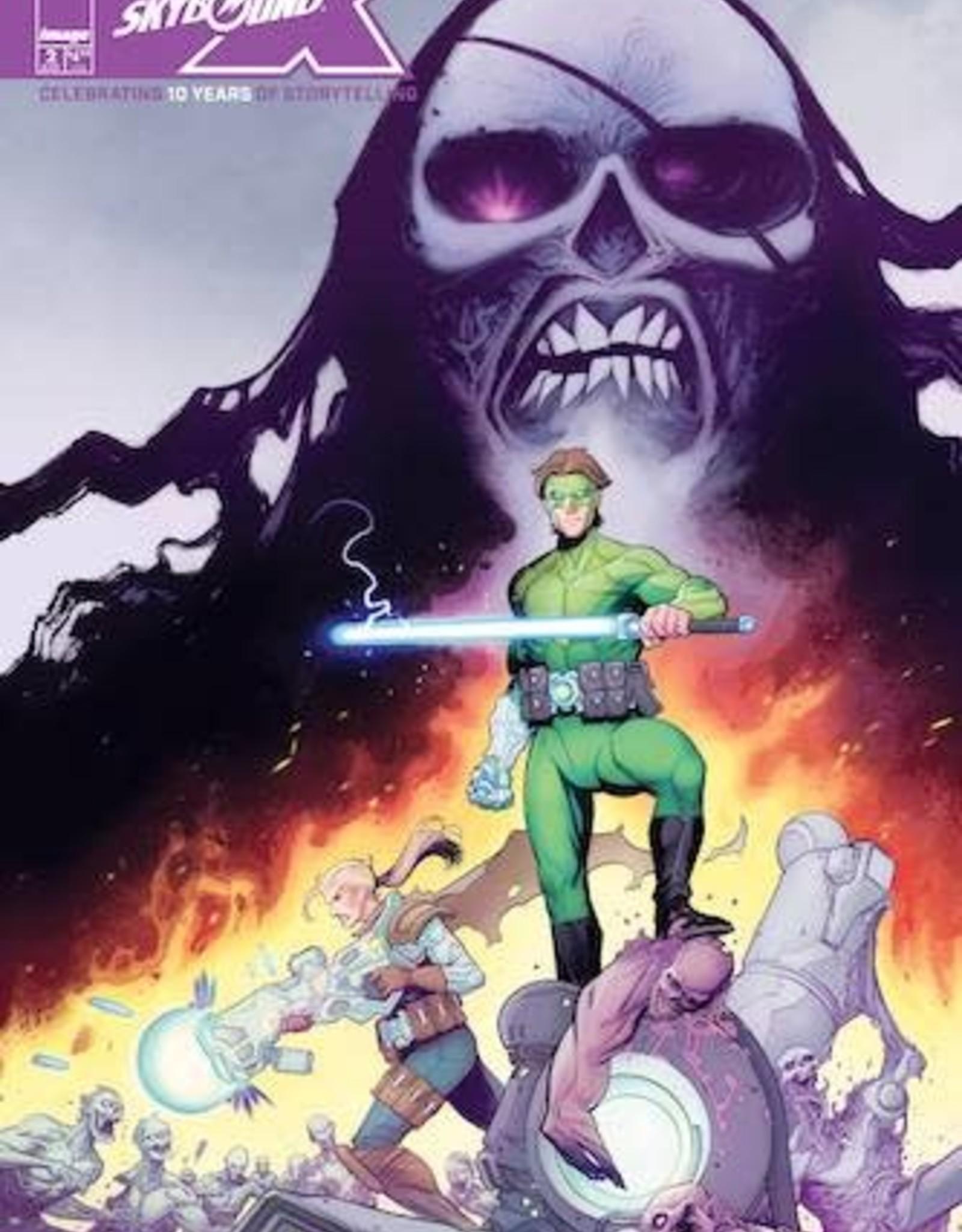 Image Comics Skybound X #2 Cvr A Rathburn