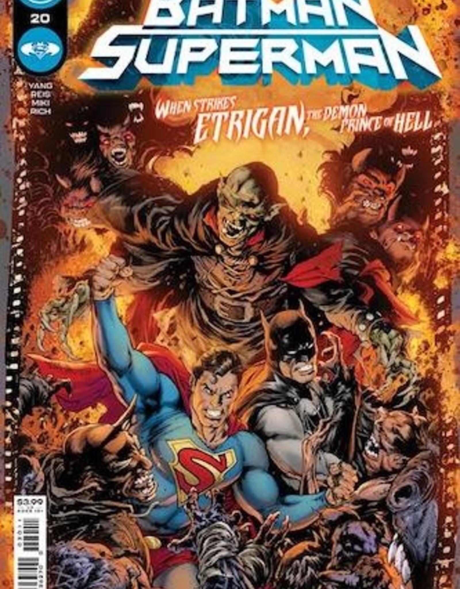 DC Comics Batman Superman #20 Cvr A Ivan Reis & Danny Miki