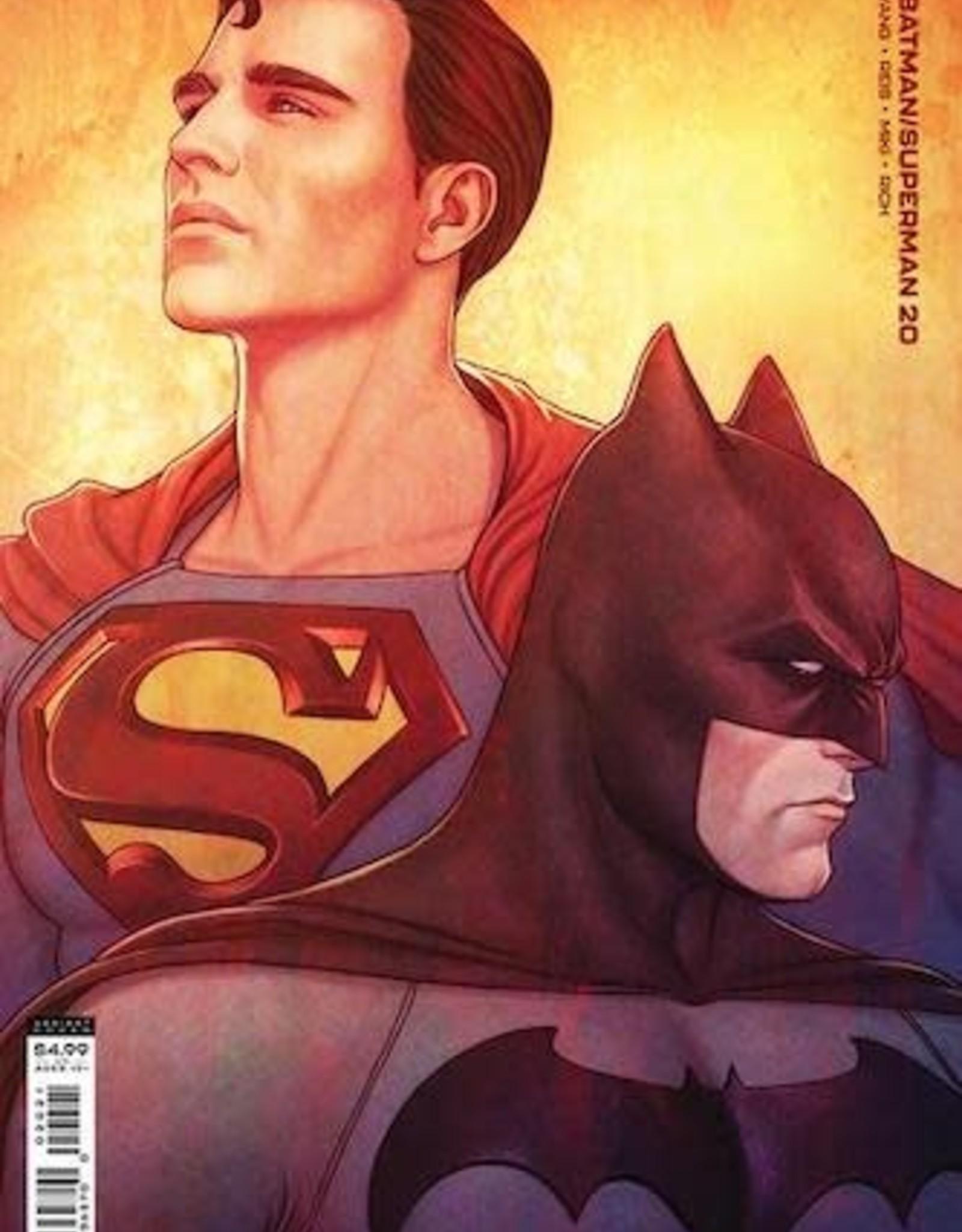 DC Comics Batman Superman #20 Cvr B Jenny Frison Card Stock Var