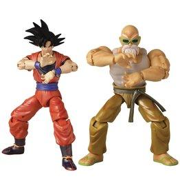 Bandai 2021 Con Ex Db Super Dragon Stars Goku & Mutenroshi Action Figure