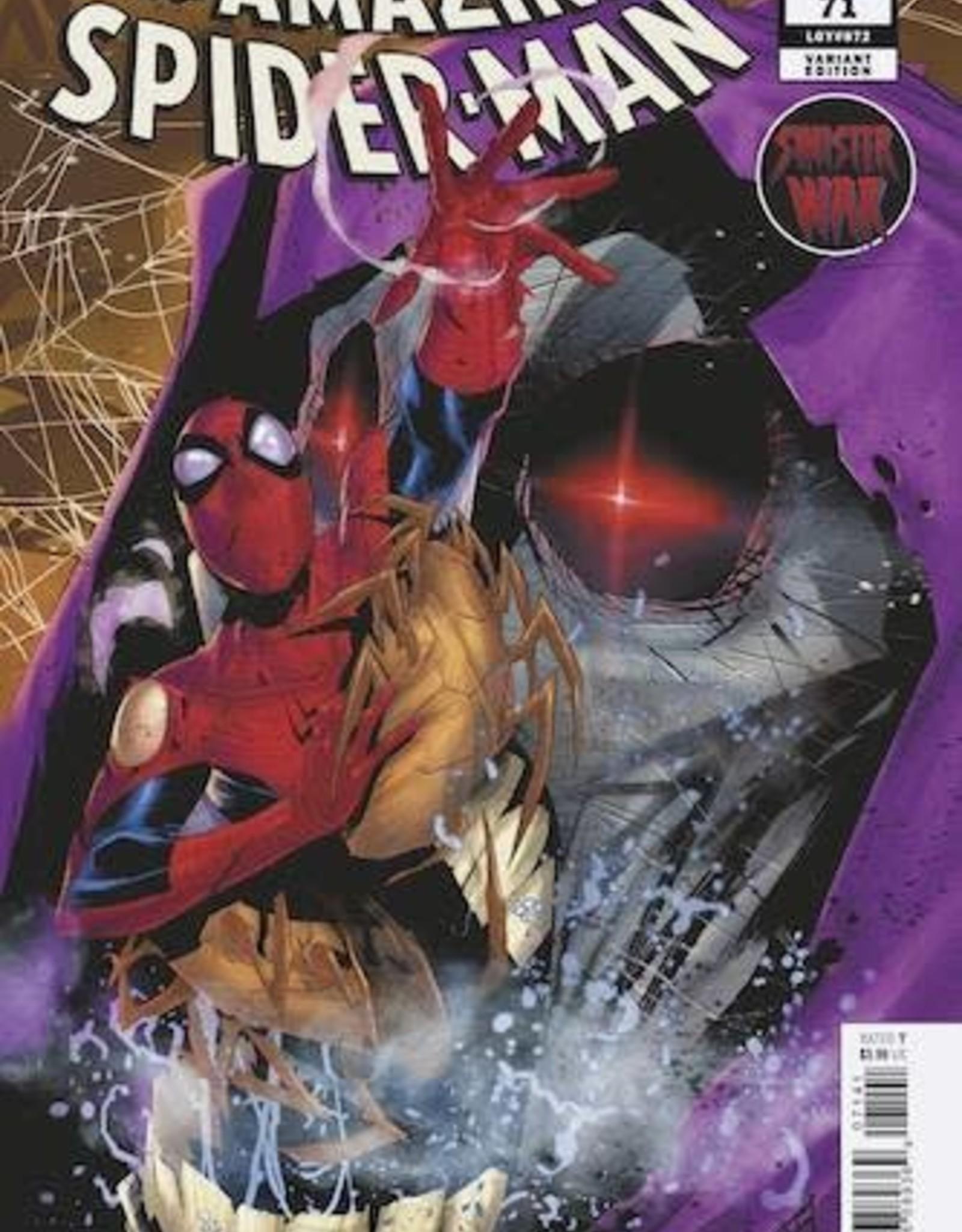 Marvel Comics Amazing Spider-Man #71 Vicentini 1:25 Var Sinister War