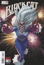 Marvel Comics Black Cat #8 Yu Captain America 80th Var