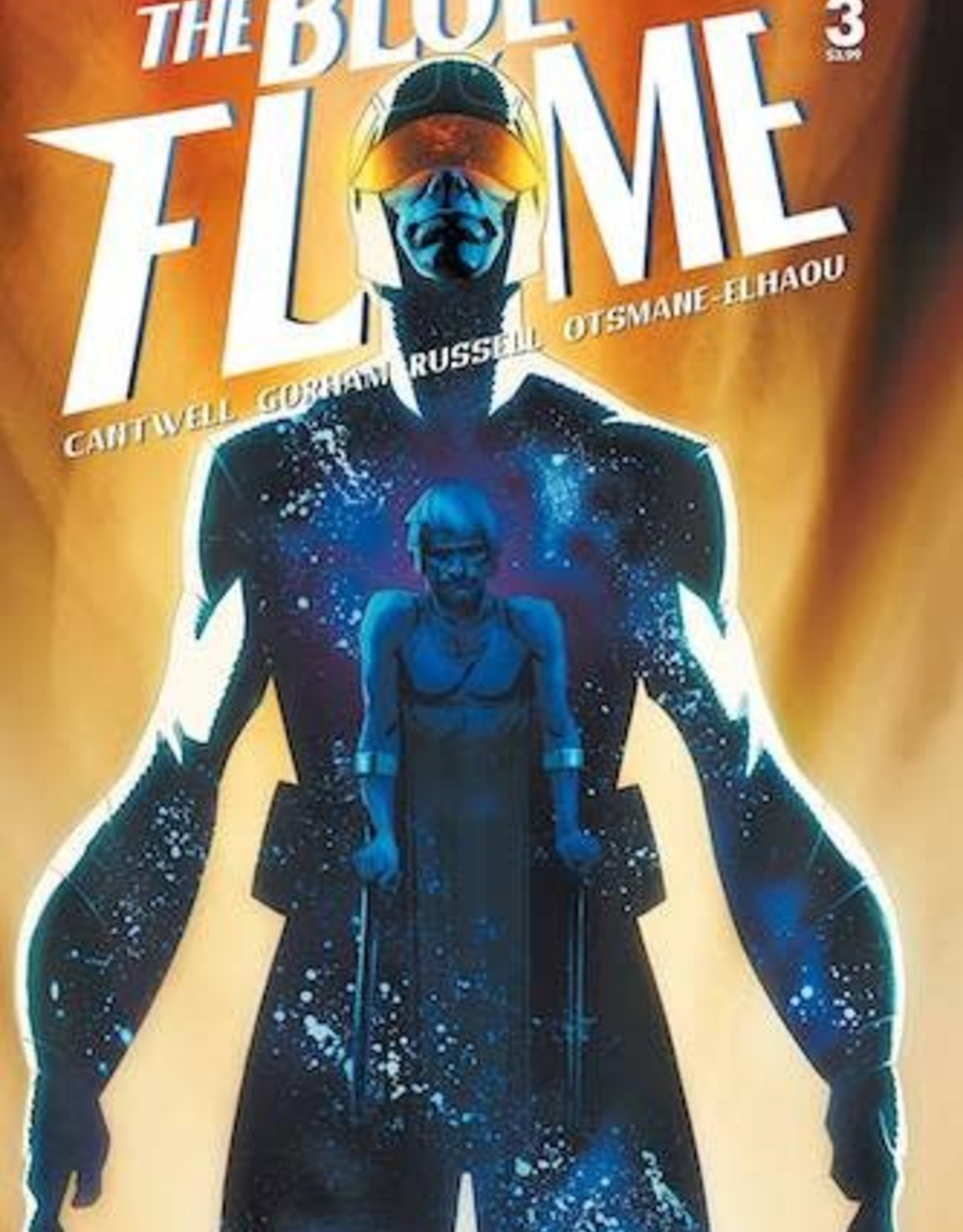 Vault Comics Blue Flame #3 Cvr A Gorham