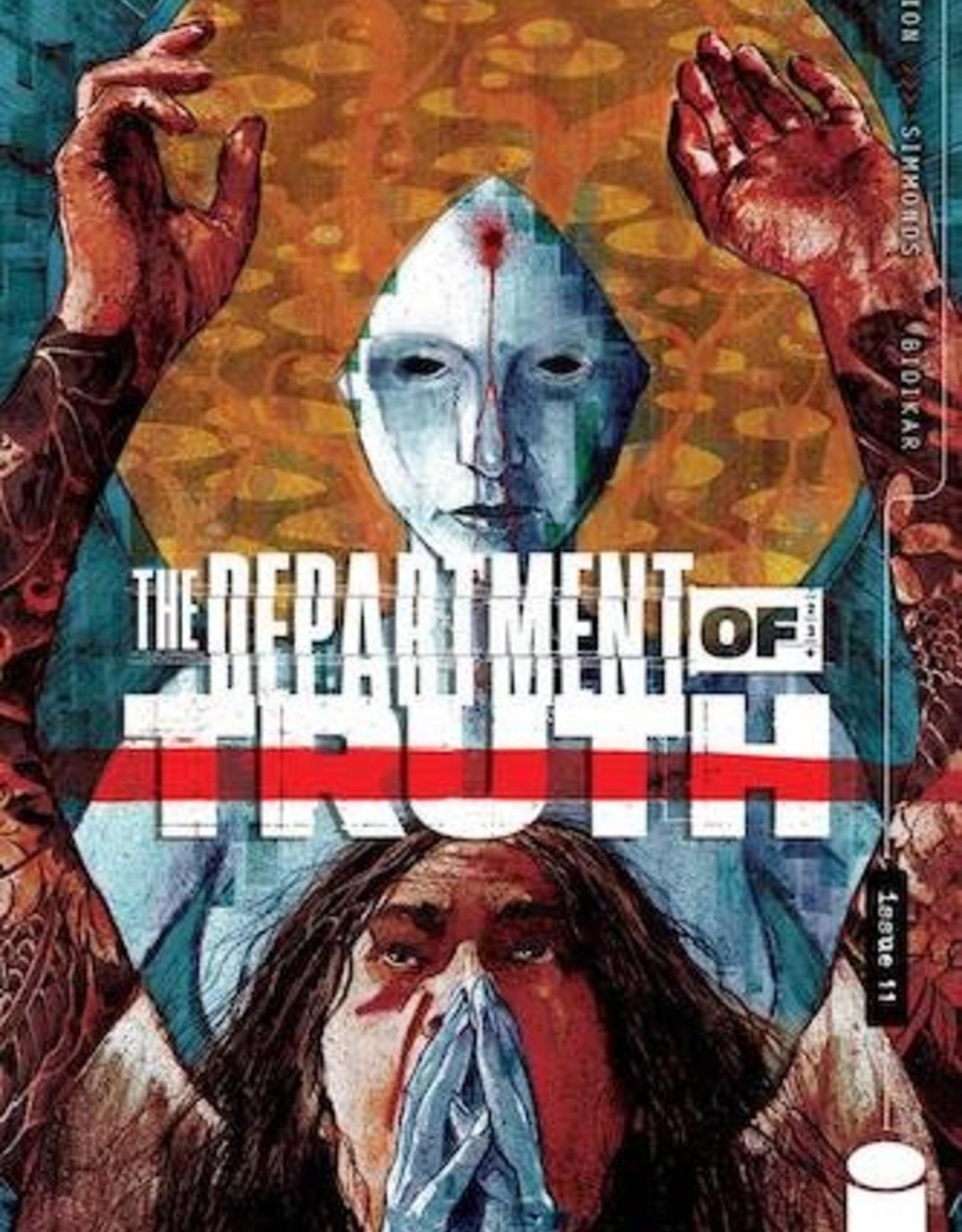 Image Comics Department Of Truth #11 Cvr A Simmonds