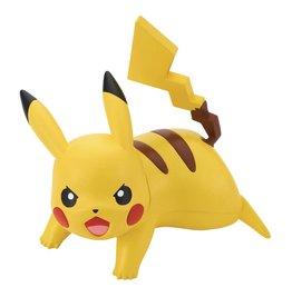 Bandai Pokemon 03 Pikachu Battle Pose Quick Model Kit 1