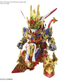 Bandai Sd Gundam World Heroes 01 Wukong Impulse Gundam Model Kit (n
