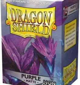 Arcane Tinmen Dragon Shield (100) Non Glare Matte Purple