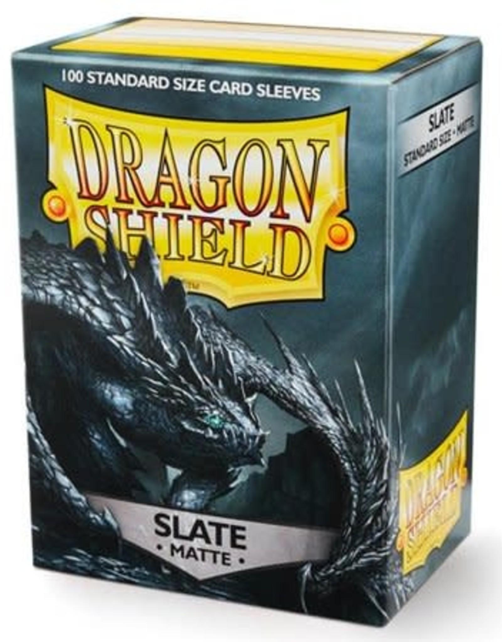 Arcane Tinmen Dragon Shield (100) Matte Slate