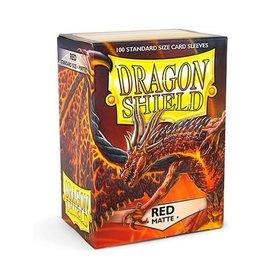 Arcane Tinmen Dragon Shield (100) Matte Red