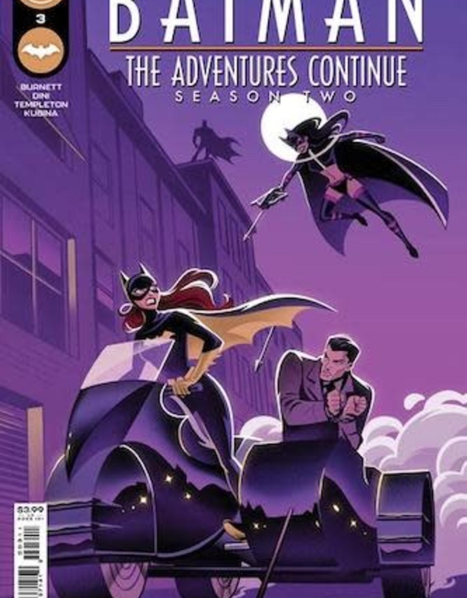 DC Comics Batman The Adventures Continue Season II #3 Cvr A Stephanie Pepper
