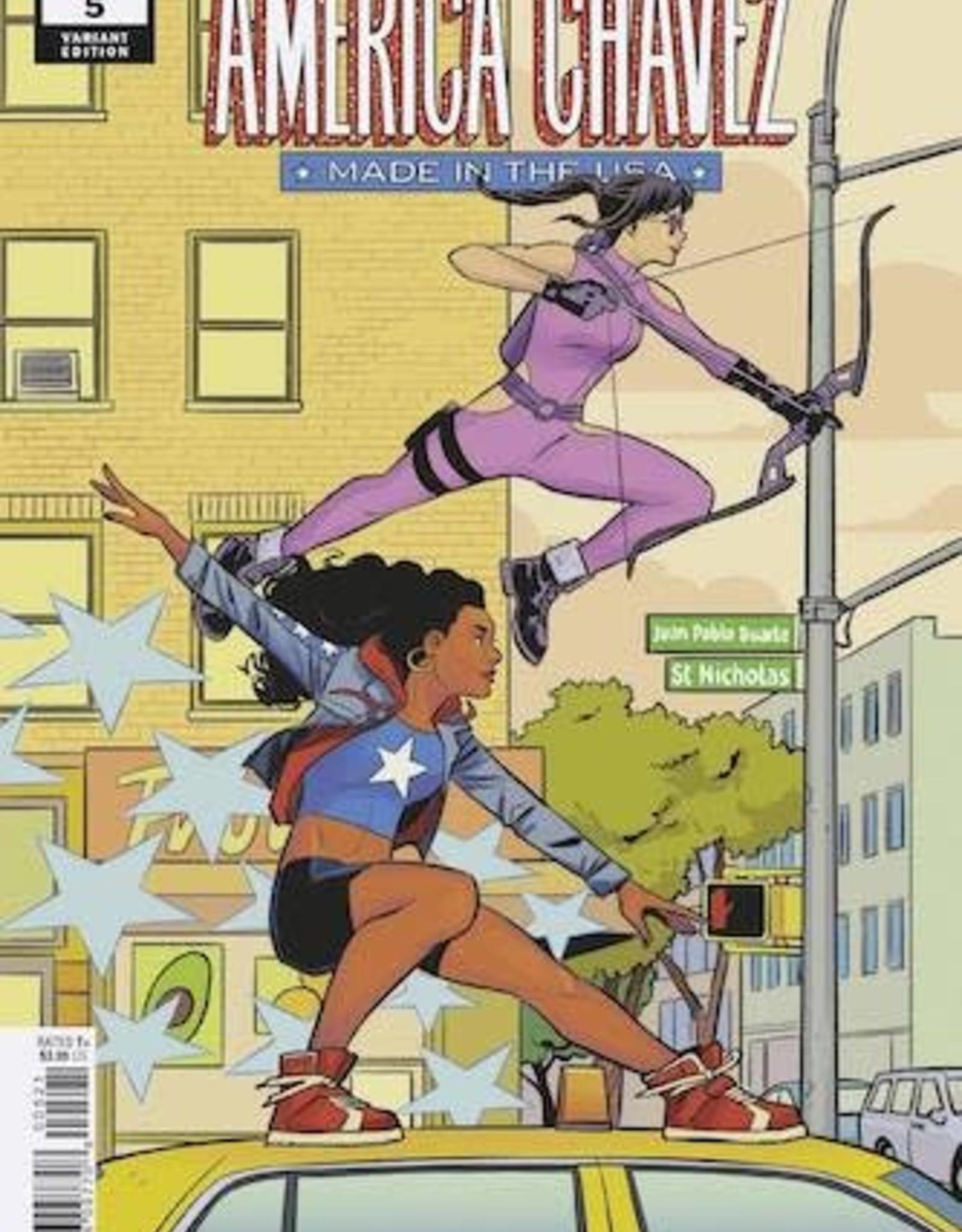 Marvel Comics America Chavez Made In USA #5 Bustos Var
