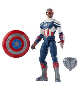 Hasbro Marvel Disney Plus Legends 6in Captain America Falcon Action Figure