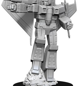 Wizkids Transformers Deep Cuts Unpainted Miniatures -Starscream
