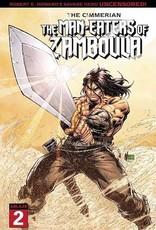 Ablaze Cimmerian Man-Eaters Of Zamboula #2 Cvr A Marion