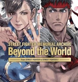 Udon Entertainment Street Fighter Memorial Archive Beyond The World HC
