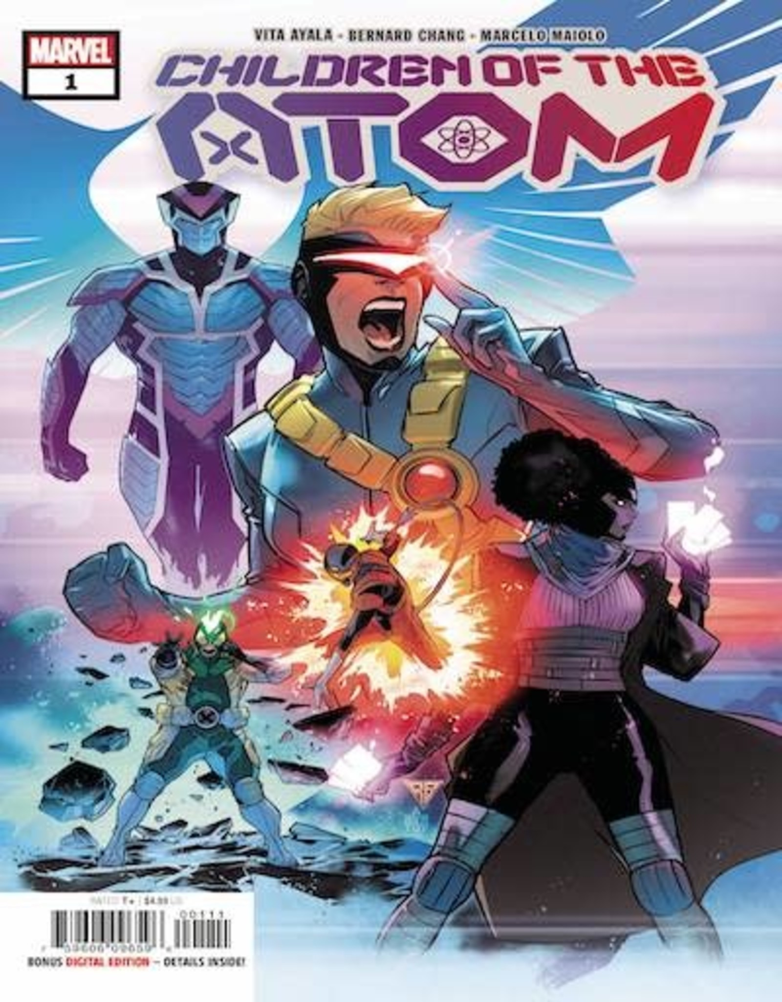 Marvel Comics Children Of Atom #1