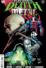 DC Comics Dark Nights Death Metal #5 Cvr A Greg Capullo Embossed Foil