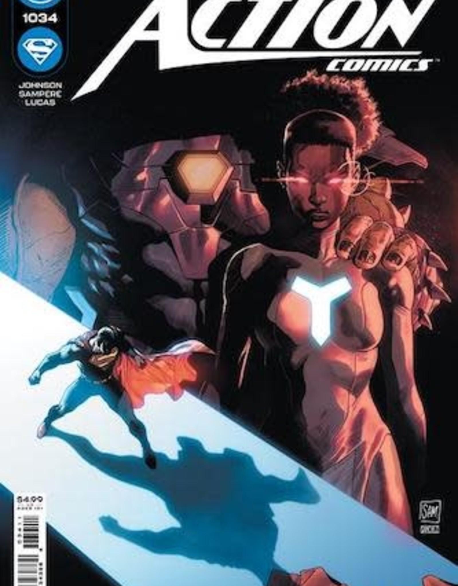 DC Comics Action Comics #1034 Cvr A Daniel Sampere