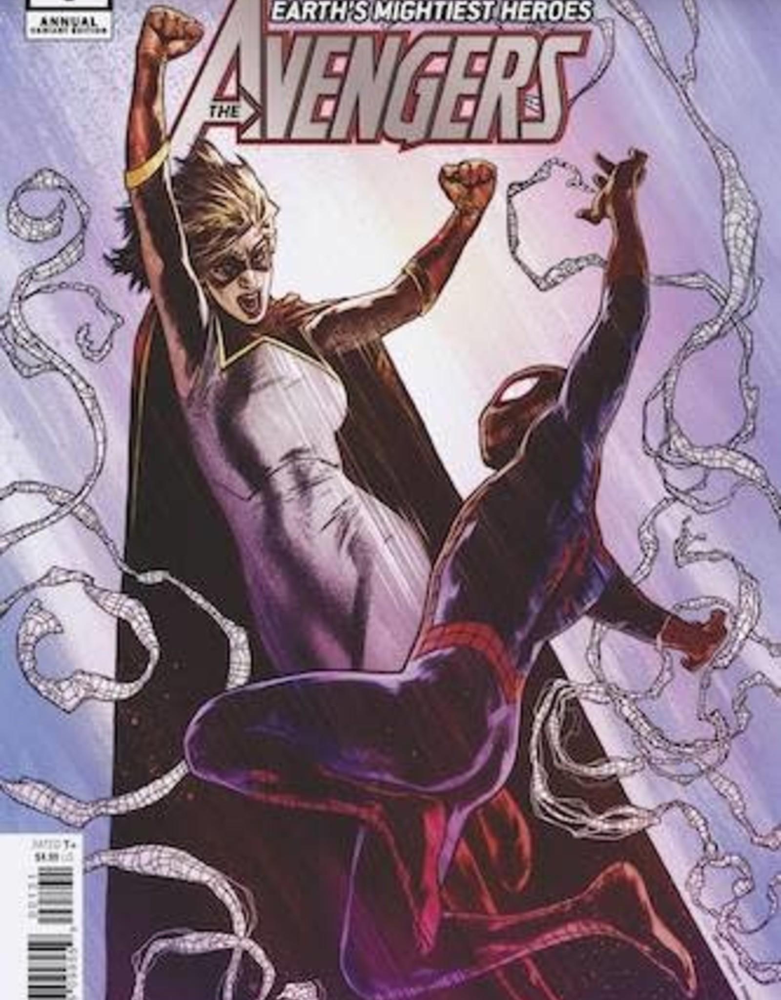 Marvel Comics Avengers Annual #1 Charest 1:25 Var Infd