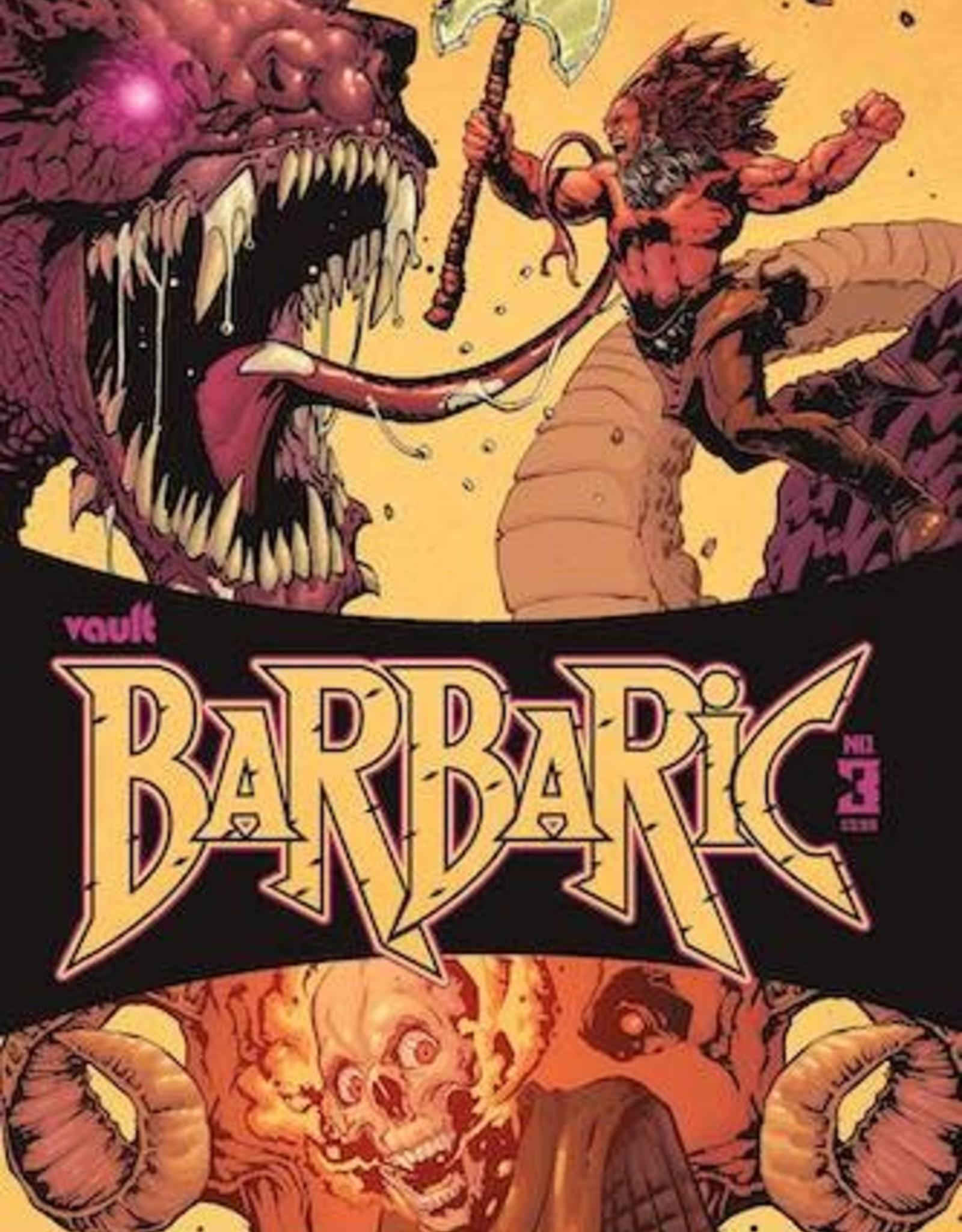 Vault Comics Barbaric #3 Cvr A Gooden