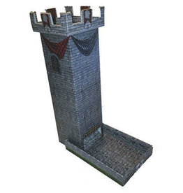 Role 4 Initiative Castle Keep Dice Tower