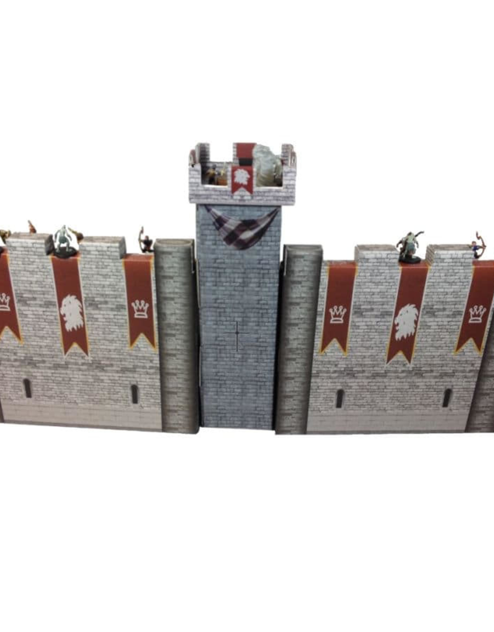 Role 4 Initiative Castle Keep Dice Tower Combo (Turn Tracker/DM Screen/Dice Tower)