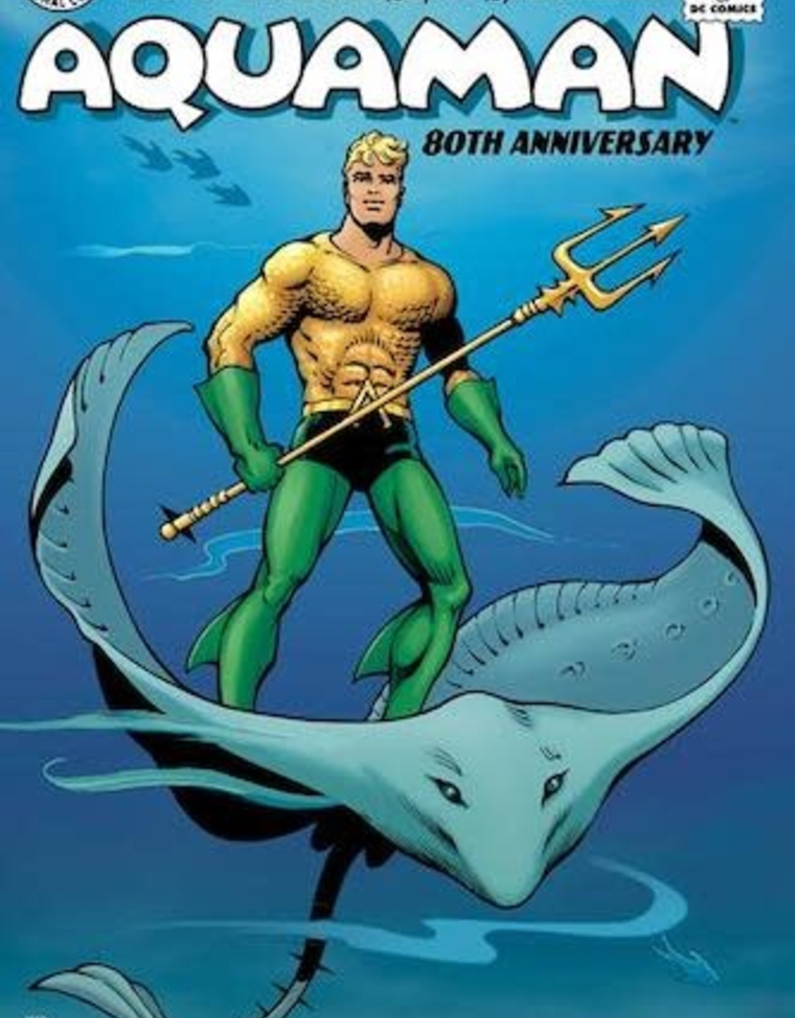 DC Comics Aquaman 80th Anniversary 100-Page Super Spectacular #1 (One Shot) Cvr C Ramona Fradon & Sandra Hope 1950s Var