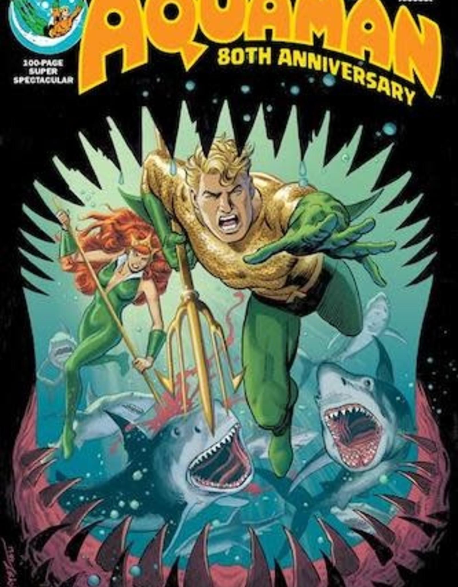 DC Comics Aquaman 80th Anniversary 100-Page Super Spectacular #1 (One Shot) Cvr E Jose Luis Garcia-lopez 1970s Var