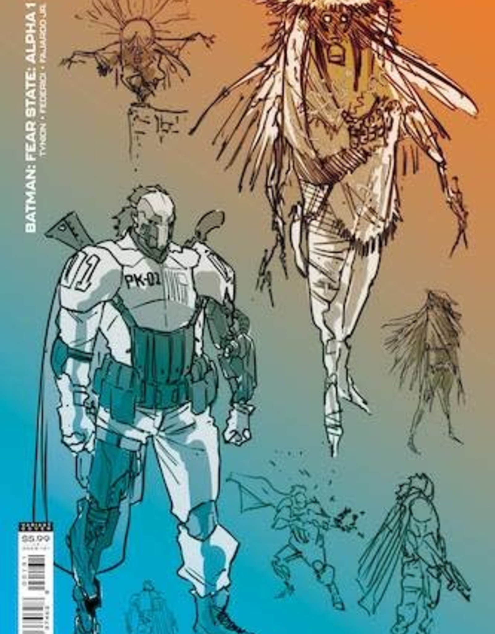 DC Comics Batman Fear State Alpha #1 (One Shot) Inc 1:25 Jorge Jimenez Card Stock Var