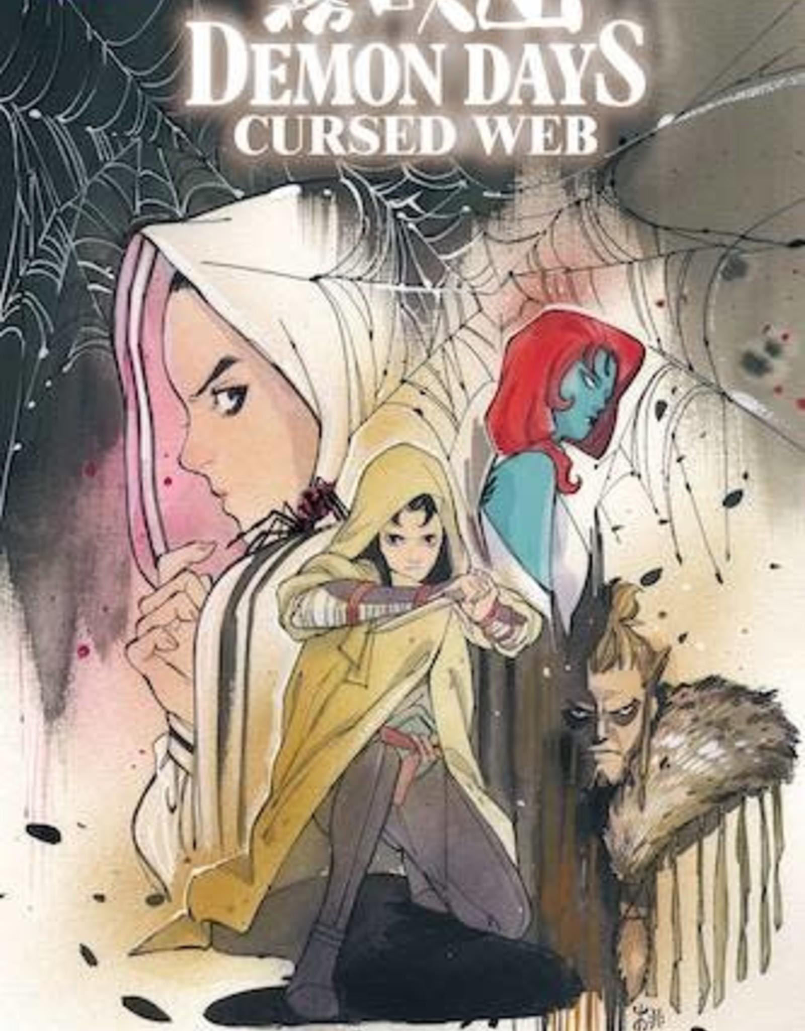 Marvel Comics Demon Days Cursed Web #1