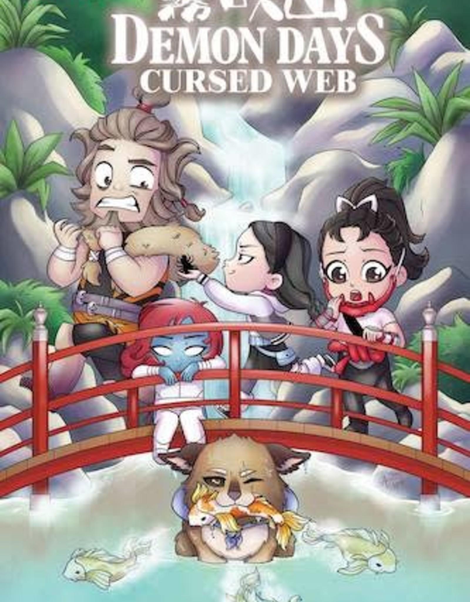 Marvel Comics Demon Days Cursed Web #1 Garbowska Var