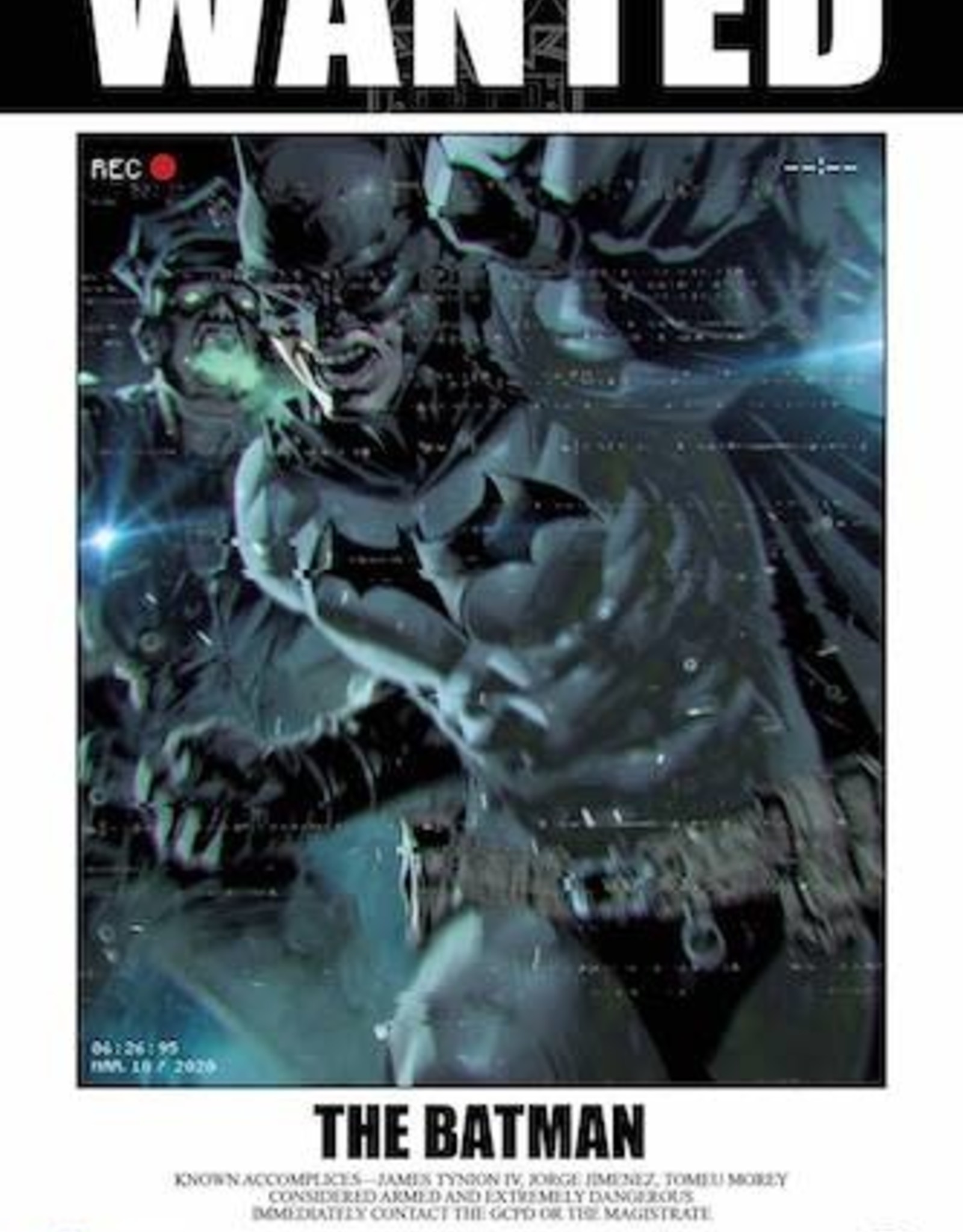 DC Comics Batman #112 Cvr D Inc 1:50 Kael Ngu Card Stock Var (Fear State)